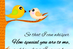 How special you are to me - Happy Valentine's Day Cards and Messages