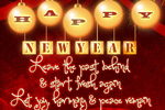 New Year Greeting Card -