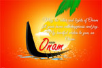 The colors of Onam