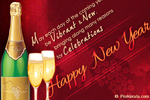 Wishes for Vibrant New Year - Greetings for Happy New Year