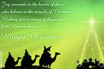 Christmas Greeting Card - The Miracle of Christmas