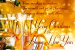 Let christmas bring us closer to each other - Christmas greeting card