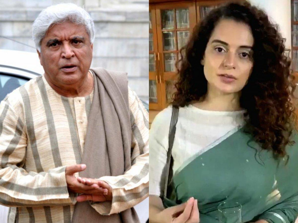 Javed Akhtar files defamation case against Kangana Ranaut, actress reacts  sharply