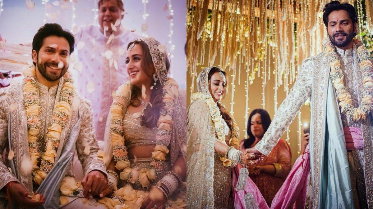 varun dhawan and natasha dalal s wedding