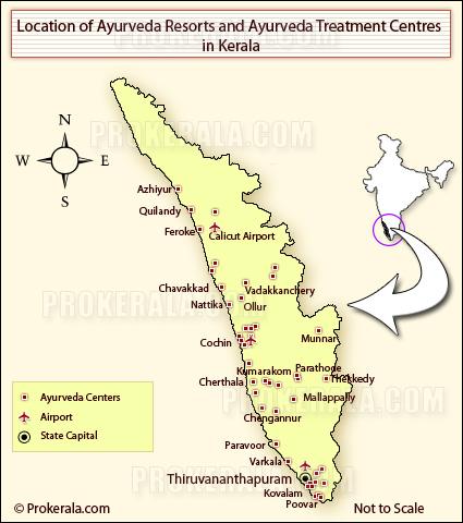 Kerala Ayurveda Hospitals, Kerala Ayurveda Massage Centres