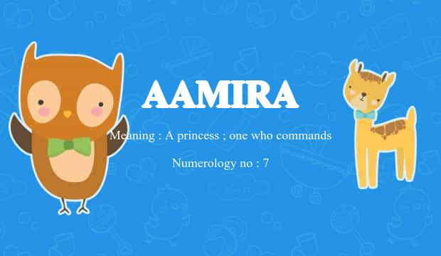 aamira name