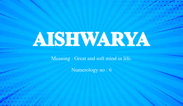 Aishwarya Name Meaning Meaning of the name aishwarya. aishwarya name meaning
