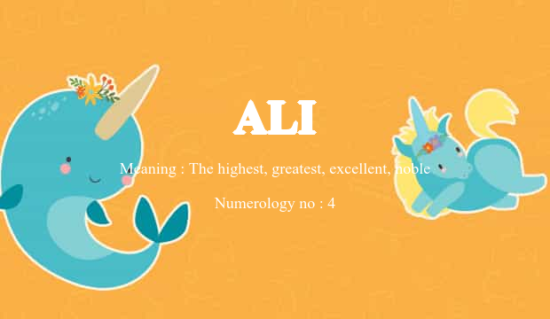 ali name meaning
