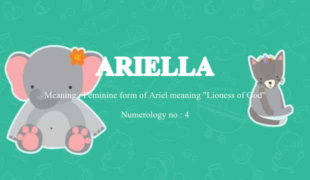 Ariella Name Meaning