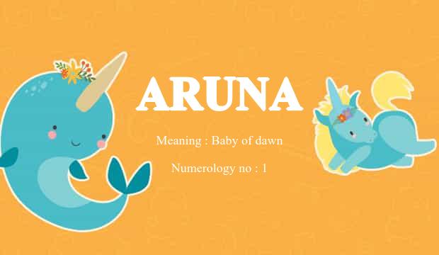 Numerology details of name Arunakham