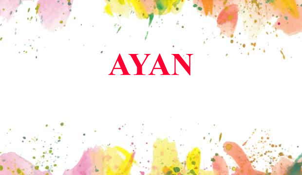 Ayan name meaning ayan name meaning details negle Gallery