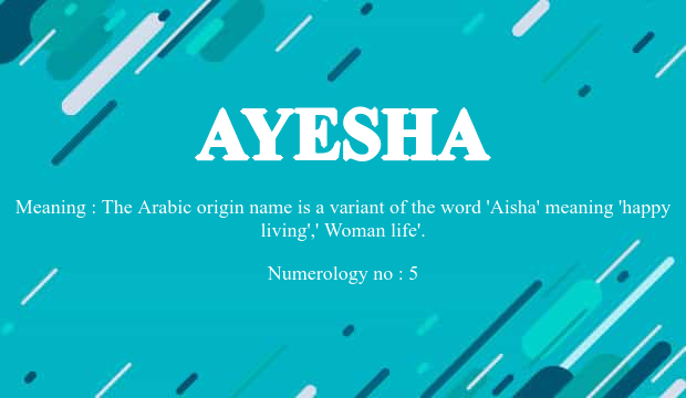 What Is The Meaning Of Arabic Name Aisha idea gallery