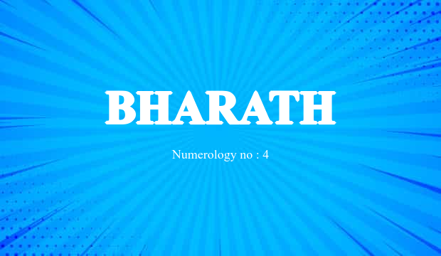 Bharath Name Meaning