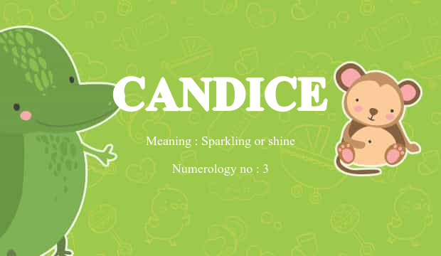 Candice Name Meaning