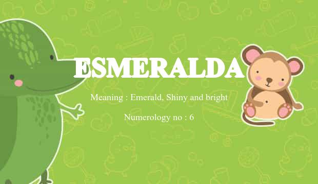 12+ Meaning of esmeralda in urdu information