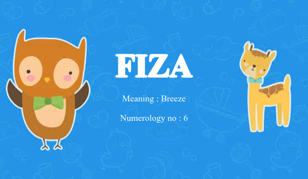 Fiza Name Meaning