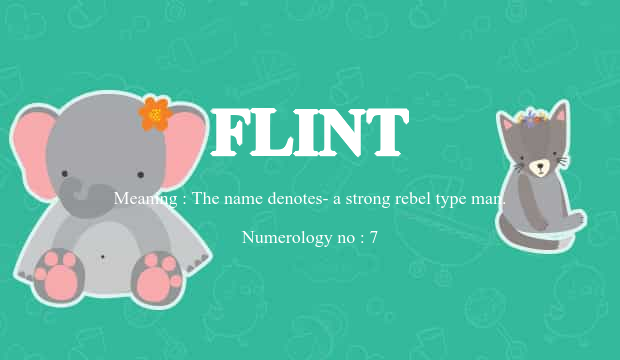 what does the name flint mean