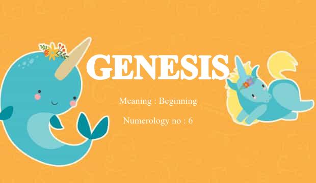 Genesis Name Meaning