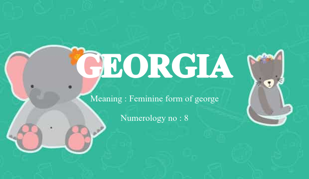 Georgia Name Meaning