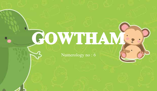 gowtham name
