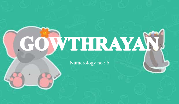 Gowthrayan Name Meaning