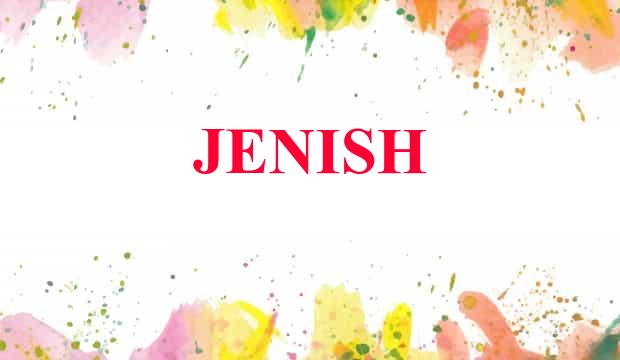 jenish name