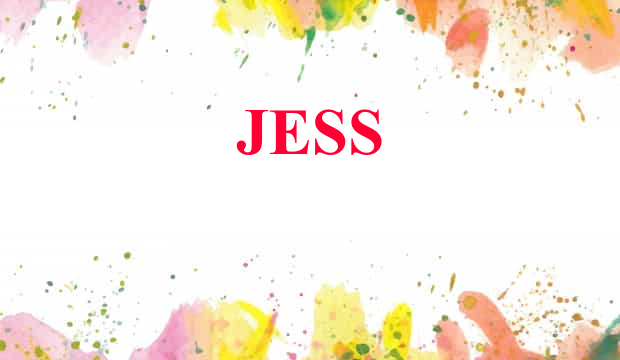 Jess name meaning baby name background negle Choice Image