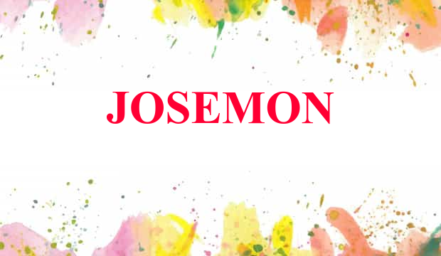 Josemon Name Meaning From the name of the flower, jasmine. josemon name meaning