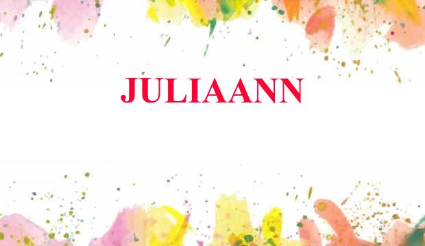 Juliaann Name Meaning