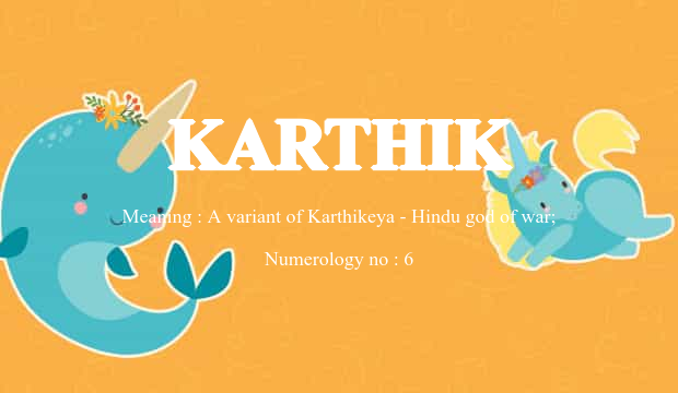 Karthik Name Meaning