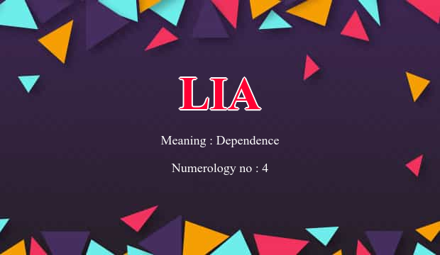 36++ Lia the meaning ideas in 2021
