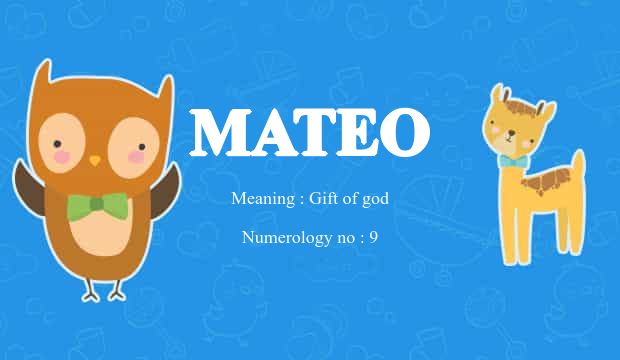 Mateo name meaning baby name background negle Image collections