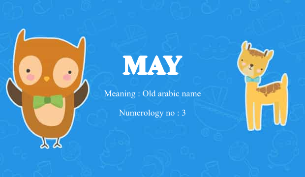 May Name Meaning