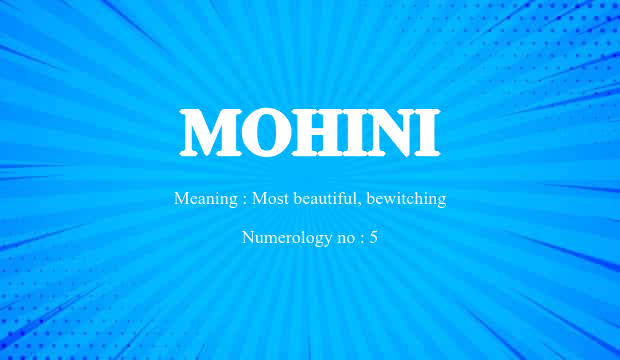 Mohini Name Meaning
