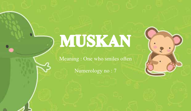 muskan name meaning
