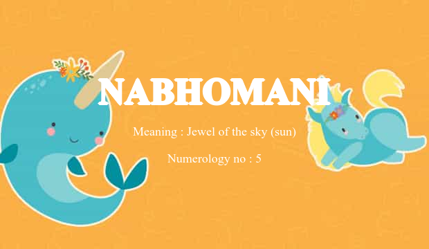 Nabhomani Name Meaning