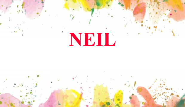 Neil Name Meaning