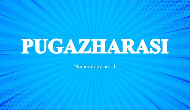Pugazharasi Name Meaning