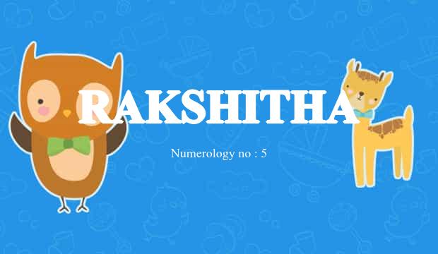 Rakshitha Name Meaning