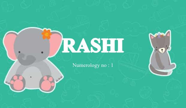 Rashi Name Meaning