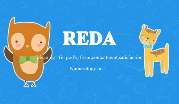 Reda Name Meaning