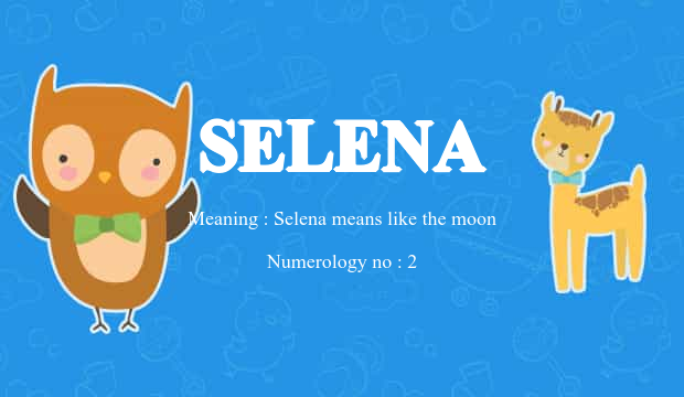 Selena Name Meaning