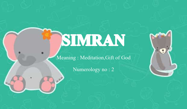 Simran name meaning baby name background negle Image collections