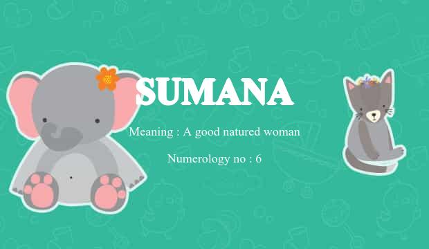 sumana name