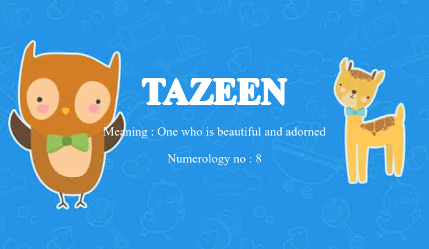 tazeen name