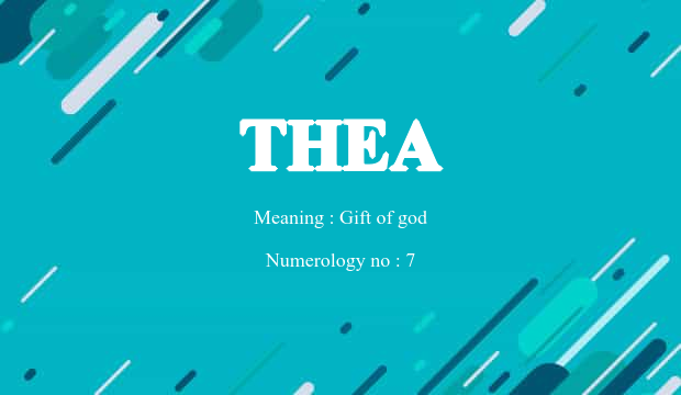 Thea 16828g baby name background negle Choice Image