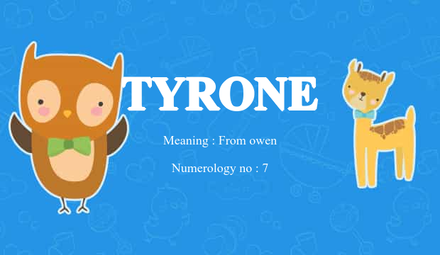 tyrone name meaning