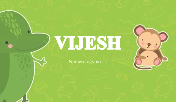vijesh name