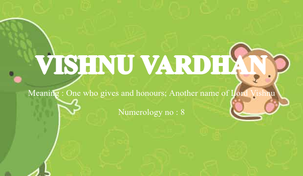 Vishnuvardhan horoscope in tamil