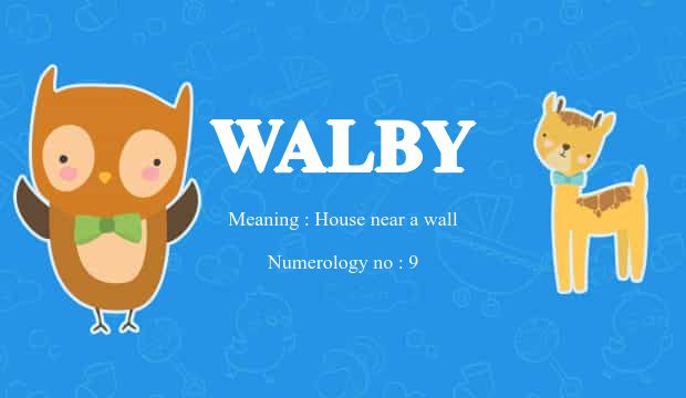 Walby Name Meaning